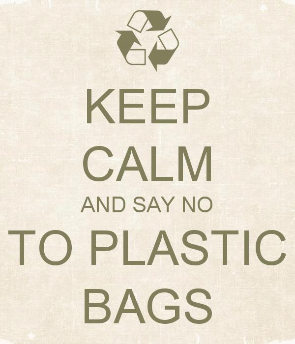 Weg met de plastic tas!