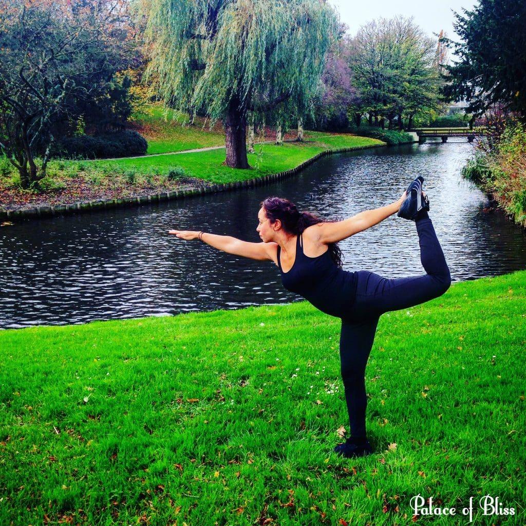 Yoga met mij: de Danser (Natarajasana)
