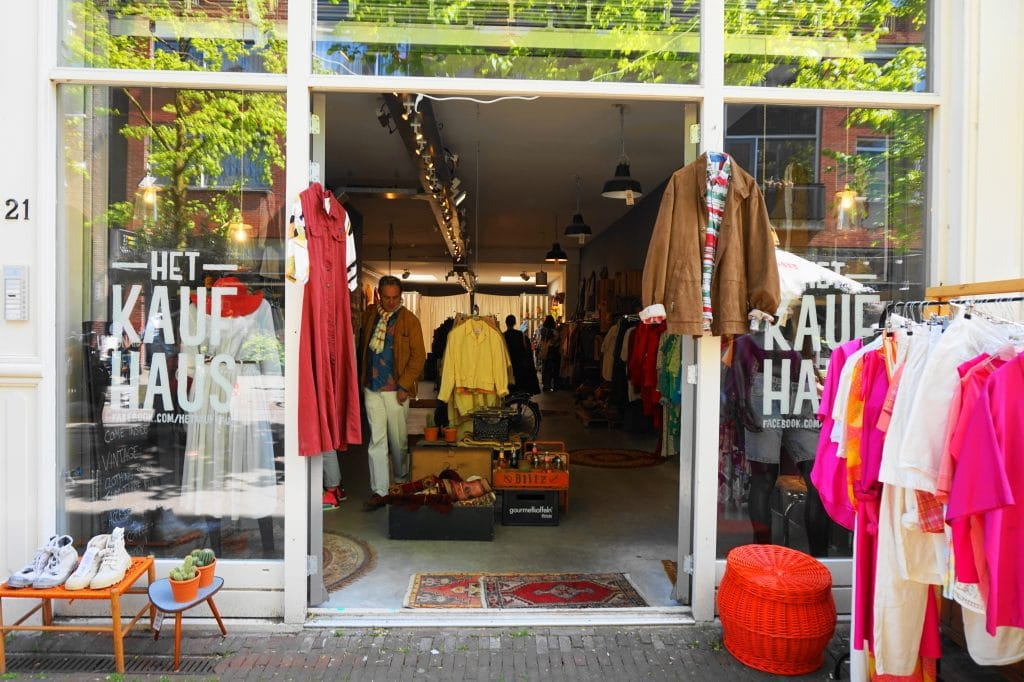 Kaufhaus 3 - 4x vintage shops in Amsterdamse (De Pijp)