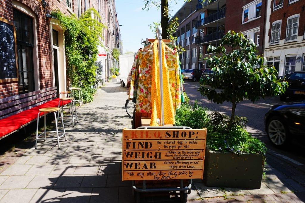 Kiloshop 4 - 4x vintage shops in Amsterdamse (De Pijp)