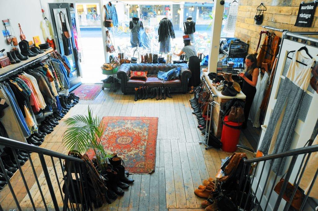 Marbles 3 - 4x vintage shops in Amsterdamse (De Pijp)