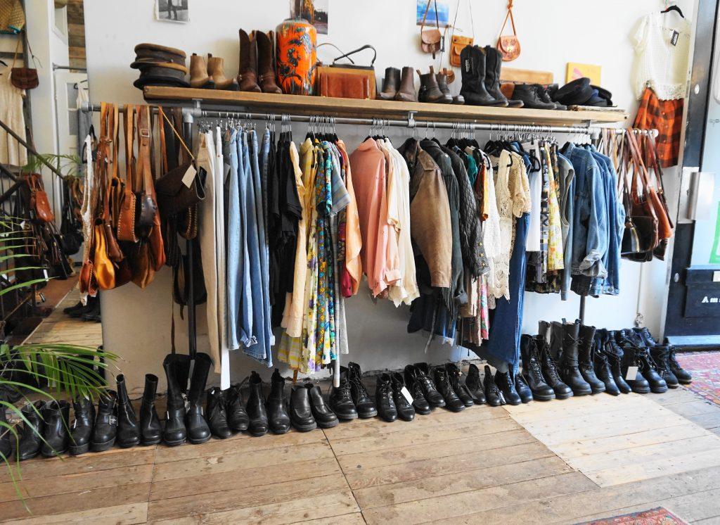vintage shoppen in de pijp