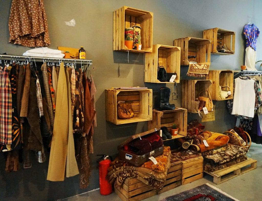 Vintageshop1 - 4x vintage shops in Amsterdamse (De Pijp)