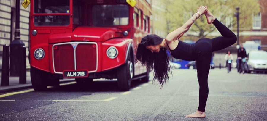 nl NL 208901  - Yogakunst aan de muur door Yoga Art