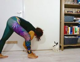 Yogakleding van plastic