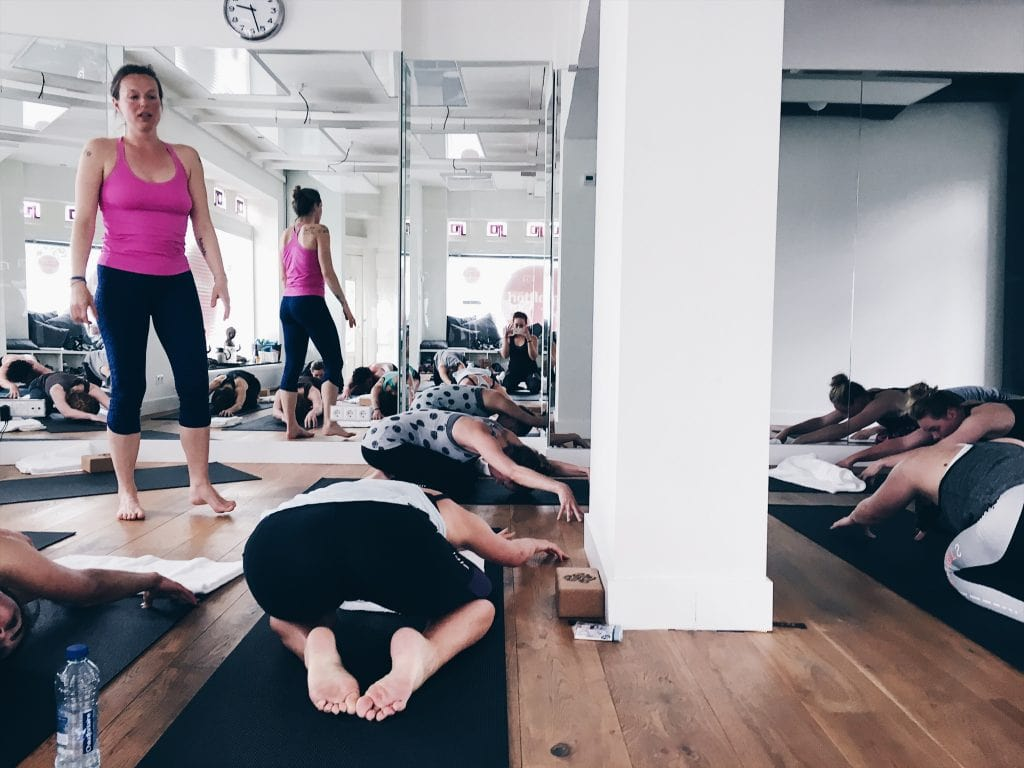 Hot Flow Vinyasa Yoga Amsterdam