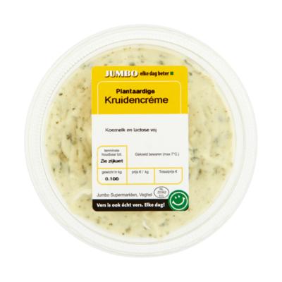 Jumbo plantaardige kruidencreme - 7 x supermarktproducten die stiekem hartstikke vegan zijn!