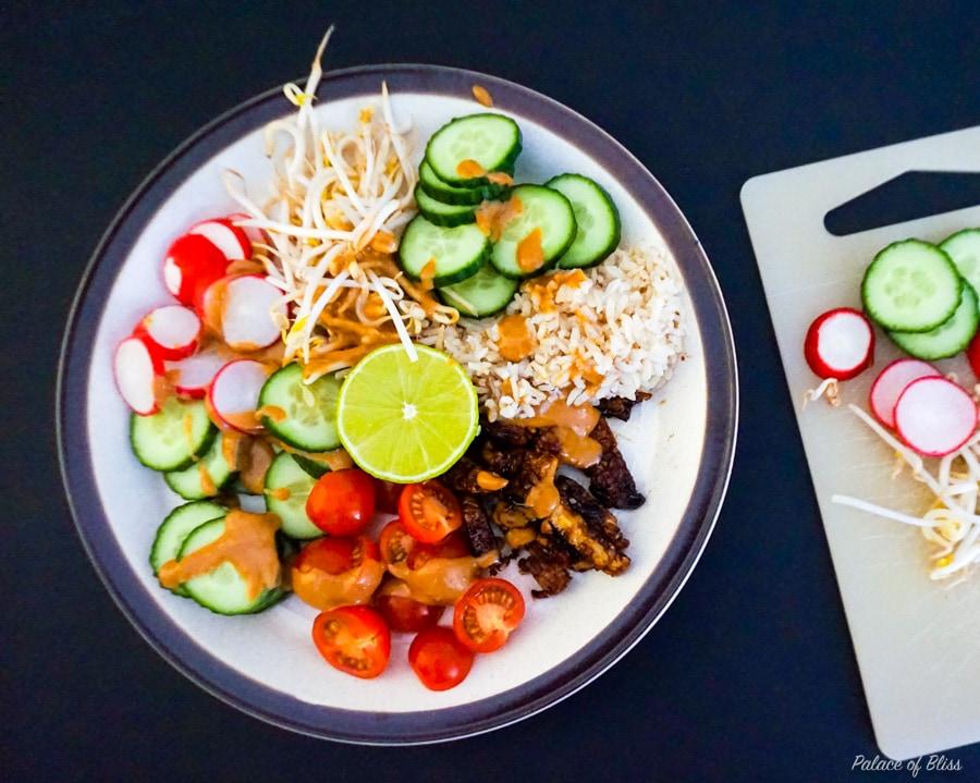 Recept || Vegan Gado Gado