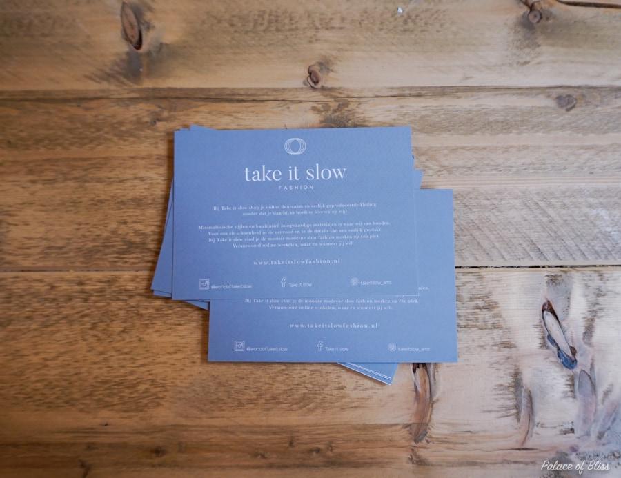 DSC09883 - De nieuwe fair fashion webshop Take it Slow