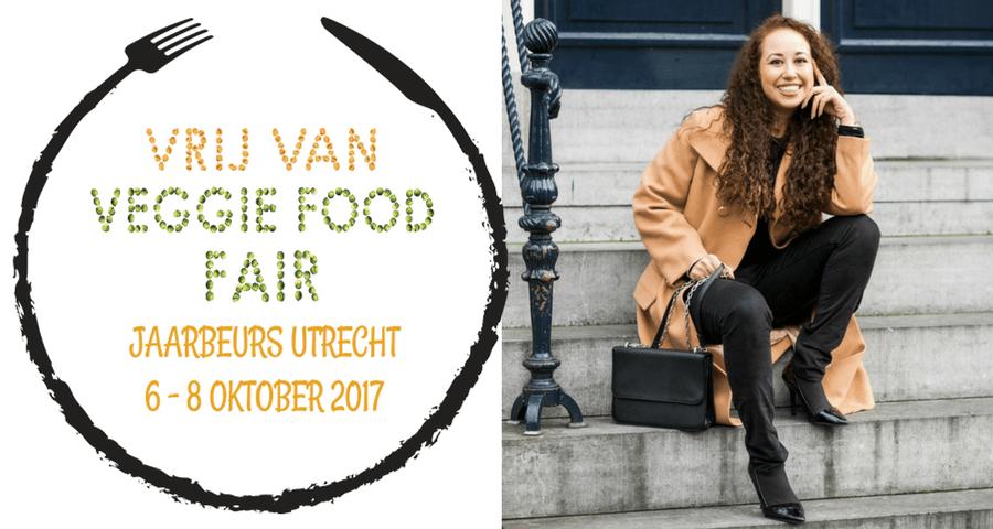 Ik geef een lezing tijdens de Vrij Van & Veggie Food Fair! (+ winactie voor 5 x 2 toegangskaarten)