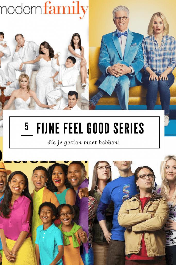In dit artikel deel ik 5 feel goed tv series met je die je gezien moet hebben!