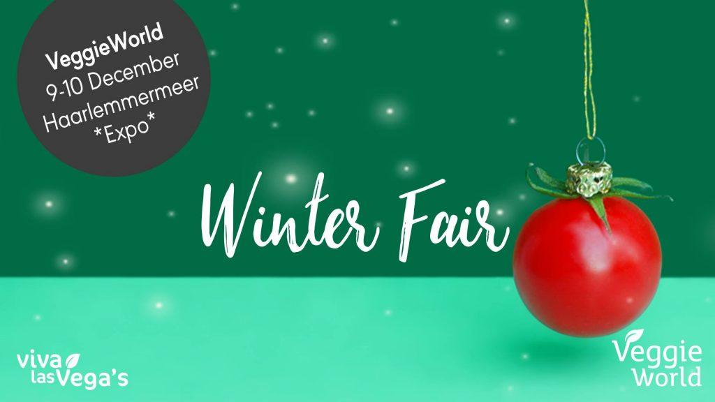 Op 9 en 10 december vindt de veggieworld winterfair plaats in de expo haarlemmermeer. Ik geef 2x2 kaarten weg