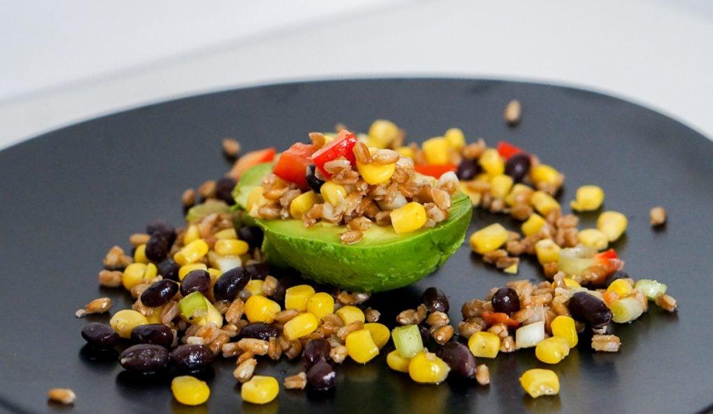 Vegan recept | Gevulde Advocado