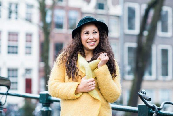 Fair fashion outfit | jas van Wintervacht, jeans van Mudjeans