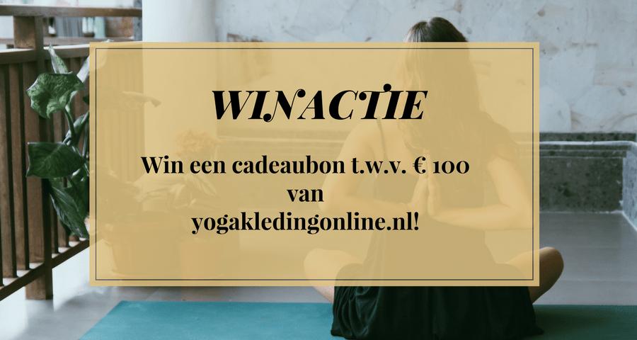 winactie yogakledingonline.nl  - Duurzame yogakleding op één plek bij Yogakledingonline.nl + winactie: win € 100 aan shop tegoed! (GESLOTEN)