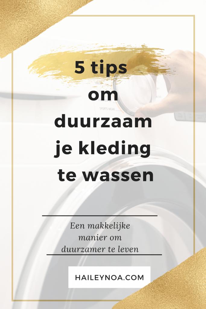 5 tips om duuraam je kleding te wassen - 5 tips om duurzaam je kleding te wassen