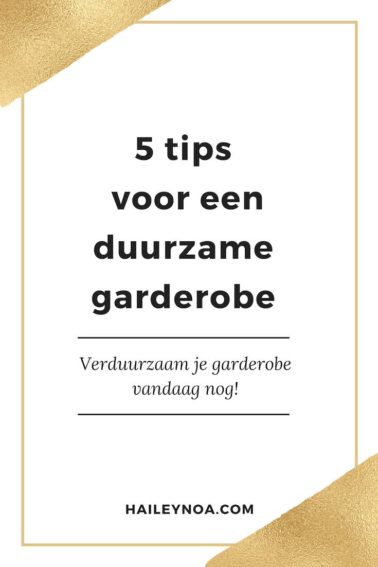 5 tips voor een duurzame garderobe (2)