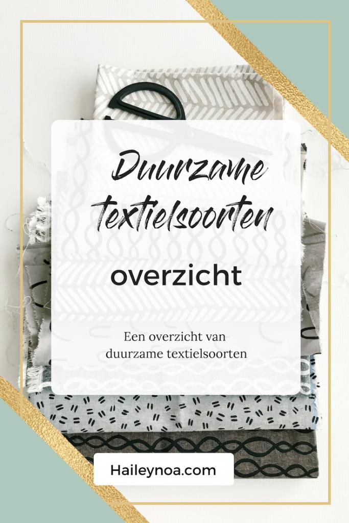 Duurzam textielsoorten overzicht - Fair Fashion Gids
