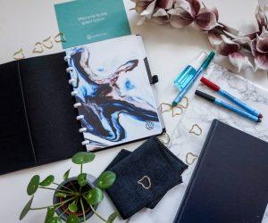 Minimalistisch werken met een uitwisbaar notitieboekje van Greenstory