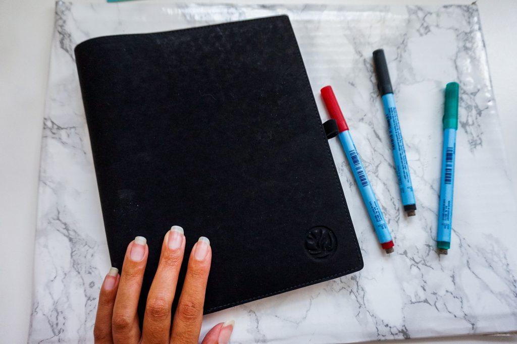 Greenstory, uitwisbaar notitieboekje