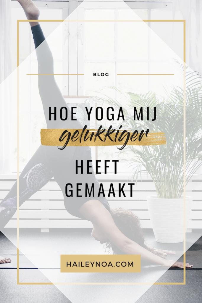 Hoe yoga mij gelukkiger heeft gemaakt