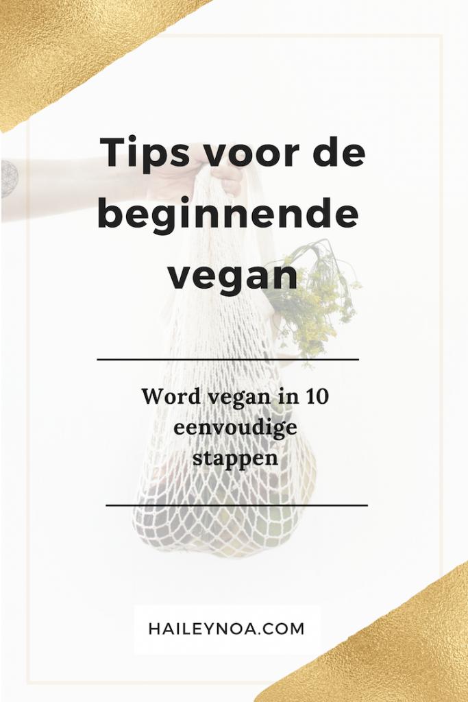Tips voor de beginnende vegan