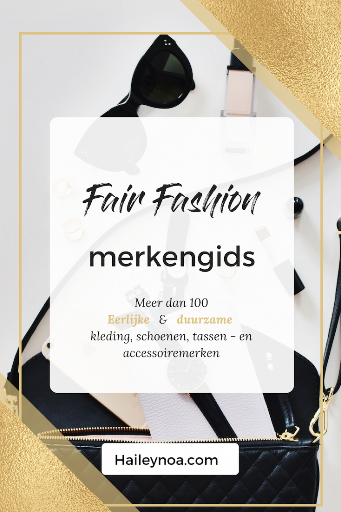 fair fashion Merkengids overzicht duurzame kledingmerken - Fair Fashion Merkengids