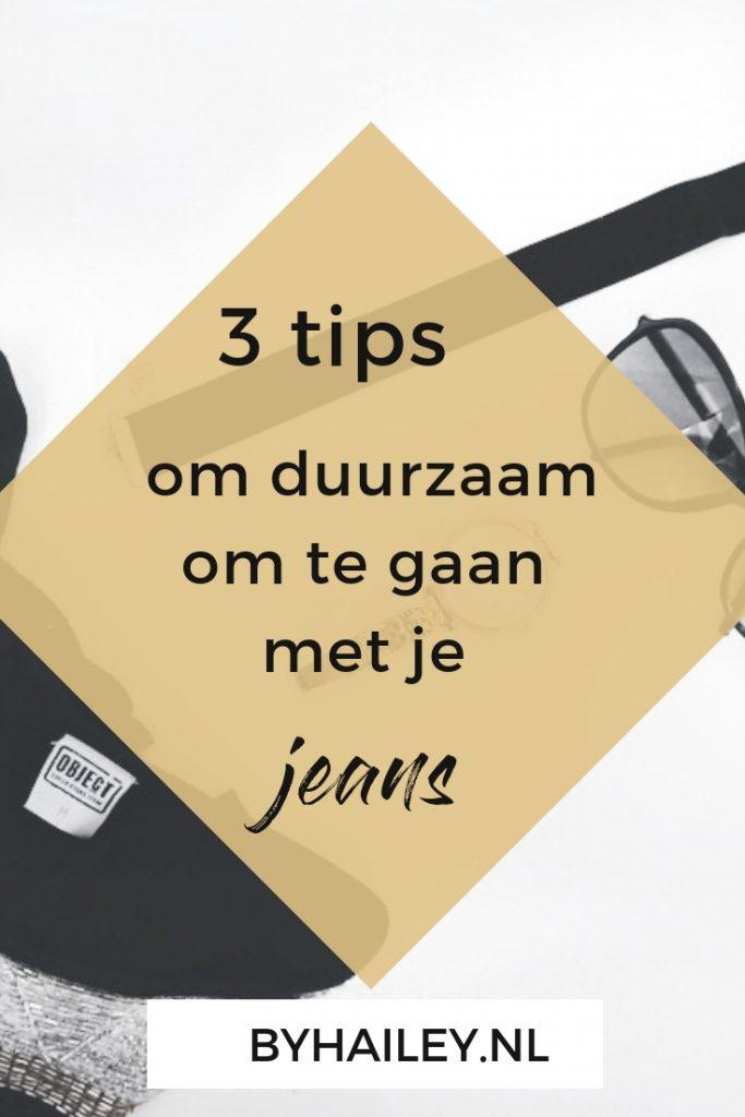 Copy of Pinterest templates 1 - 3x Tips om duurzaam om te gaan met je jeans