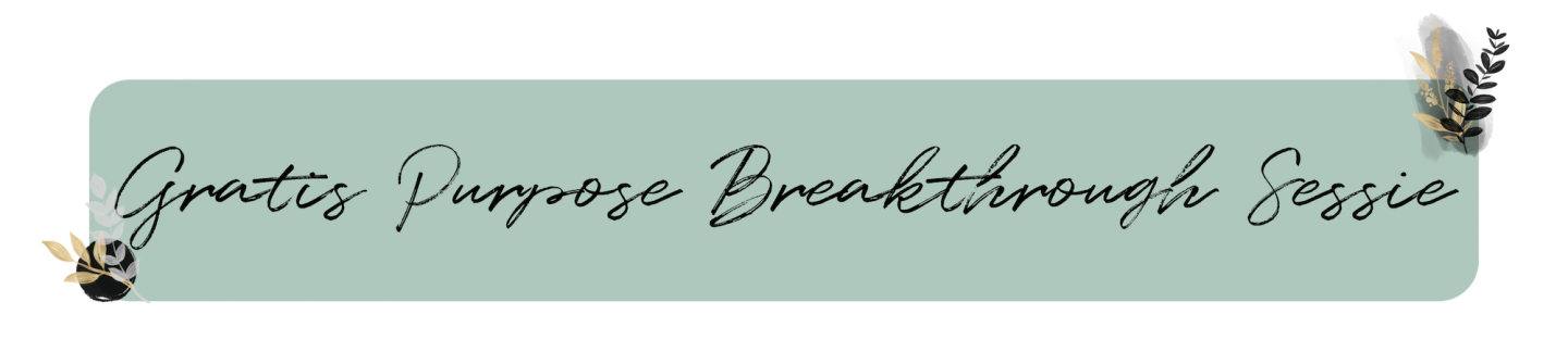 Gratis purpose breakthrough sessie-1